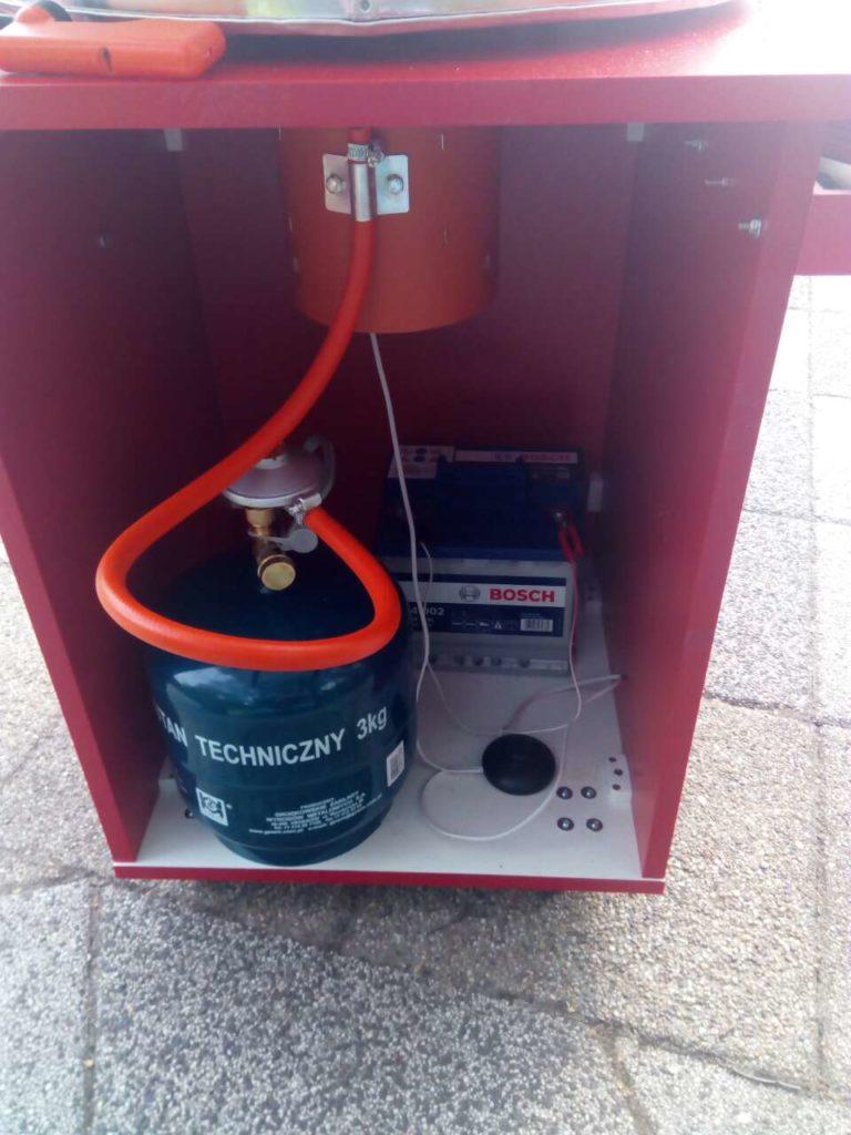 Газовый аппарат сладкой ваты