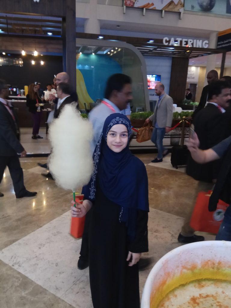 Сладкая вата в Дубае
